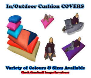 COVERS-ONLY-In-Outdoor-Cushions-Beanbag-Pillow-Lounger-Bean-Bags