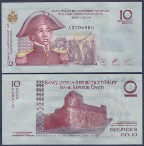 Haiti 25 Gourdes p-273 2004 UNC Banknote