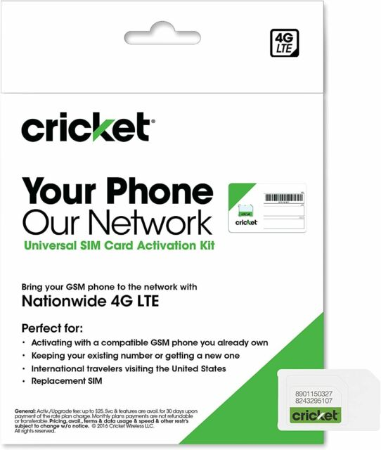 how to activate my cricket phone for free