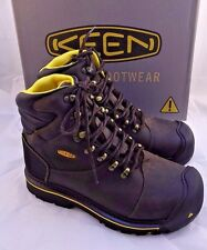 "New KEEN Utility 6""MILWAUKEE Soft Toe Work Boots Men's Size 9 EE RETAIL $150"