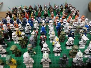 Genuine-LEGO-STARWARS-Minifigures-Lots-au-Choix-plus-de-180-differentes