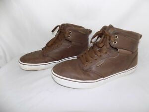 9.5 Brown Leather Lace Up Shoes