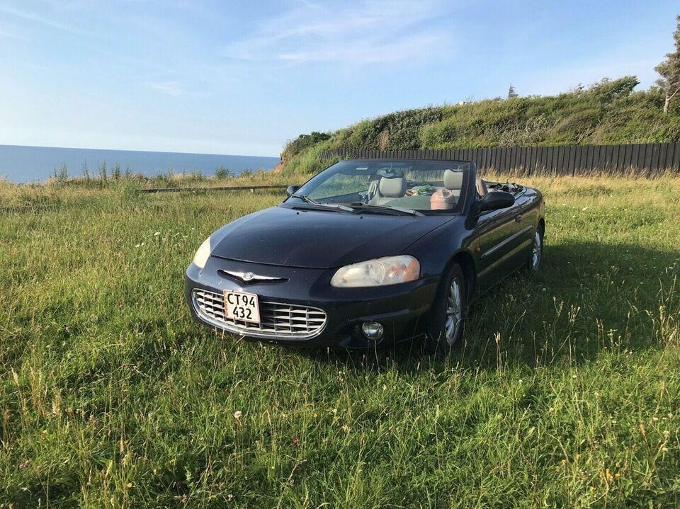 Chrysler Sebring, 2,7 Cabriolet aut., Benzin