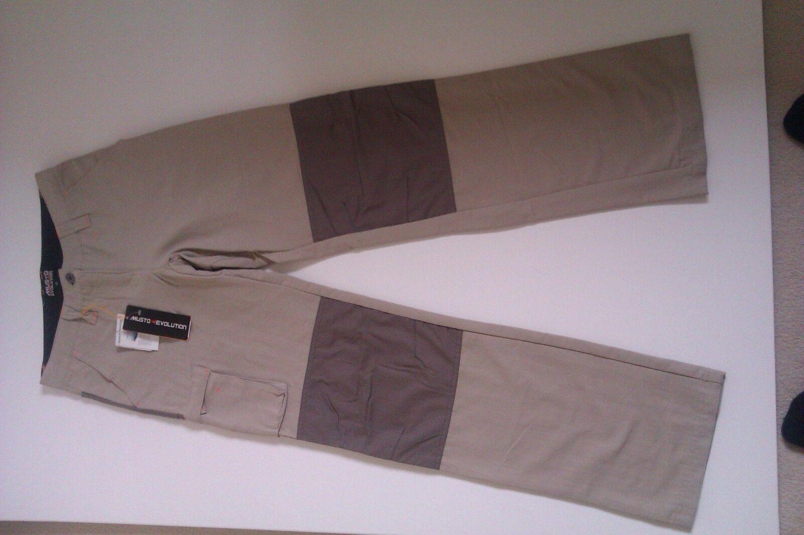 Ladies Musto Evolution Tech Trousers SE0160 Light Stone Size 8 Reg Length