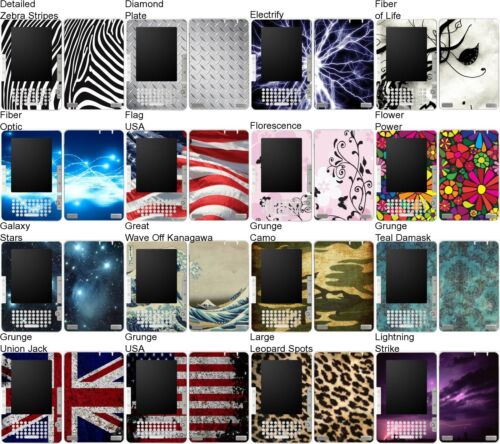 Free US Shipping! Choose Any 1 Vinyl Decal//Skin for Amazon Kindle 2