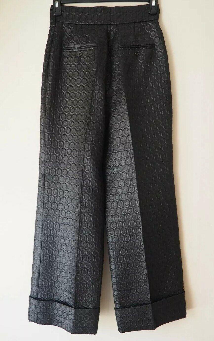 PRADA 1990's Vintage Pants Trousers Circular Desi… - image 2