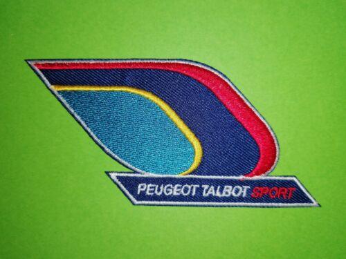 A655 PATCH ECUSSON PEUGEOT TALBOT SPORT DROITE 10*4 CM