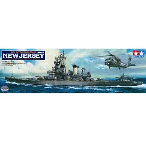 Tamiya 78028 U.S. Battleship BB-62 New Jersey (w Detail Up Parts) 1 350