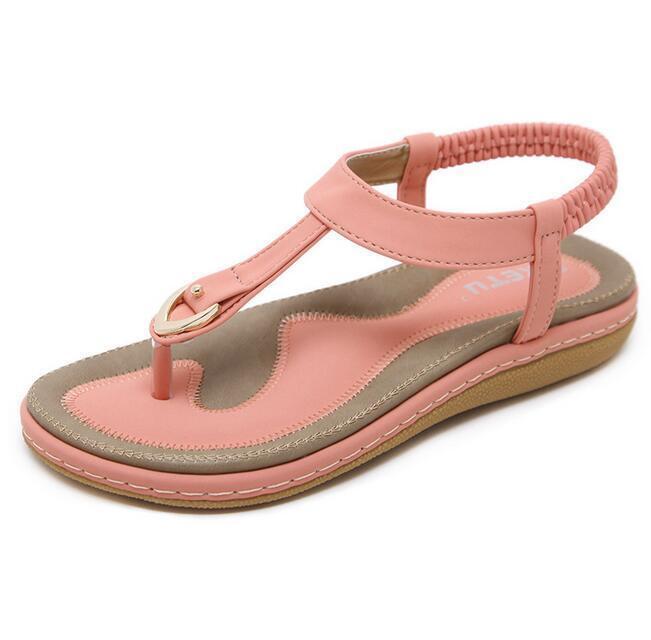 ee4cd375dd Plus Plus Plus Sz Women's Flat Heel Flip Flops Sandals Casual Spring Summer  Roma Shoes US