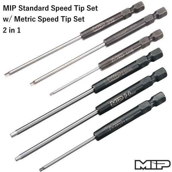 MIP 9511+9512 Standard Speed Tip Set w  Metric Speed tip set (6)