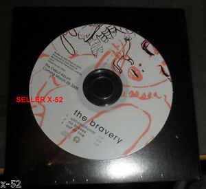 THE-BRAVERY-promo-SINGLE-CD-Unconditional-NO-BRAKES-out-of-line-RARE