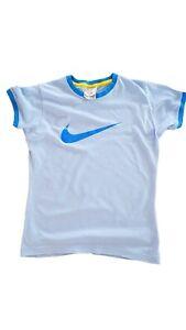 T Damen Shirt 36 NIKE Details Sport S 38 Oberteil blau Größe about UpzMVGqLS