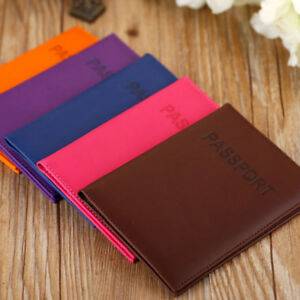 PU-Leather-Passport-Case-Holder-Organiser-Travel-ID-Credit-Card-Wallet-Cover