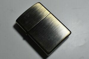 Vintage Zippo Lighter Brandford PA 06 Made In U.S.A (Working)