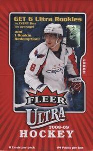 2008-09-Fleer-Ultra-Hockey-Hobby-Box