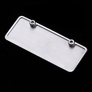 1-10-Scale-RC-Car-Metal-Blank-License-Plate-Realistic-Ornament-DIY-Accessory