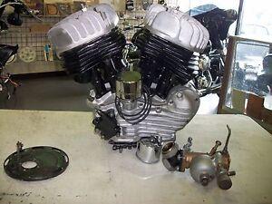 HARLEY DAVIDSON 45 WLA FLATHEAD SERVI CAR MOTOR ENGINE GE ...