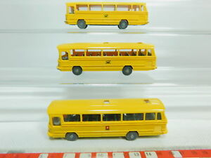 Bo800-0-5-3x-Wiking-h0-1-87-autobus-Mercedes-Benz-mb-o-302-post-Bundespost-PTT