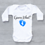 Guess-What-Pregnancy-Reveal-New-Arrival-Announcement-Boys-Baby-Grow-Bodysuit thumbnail 2