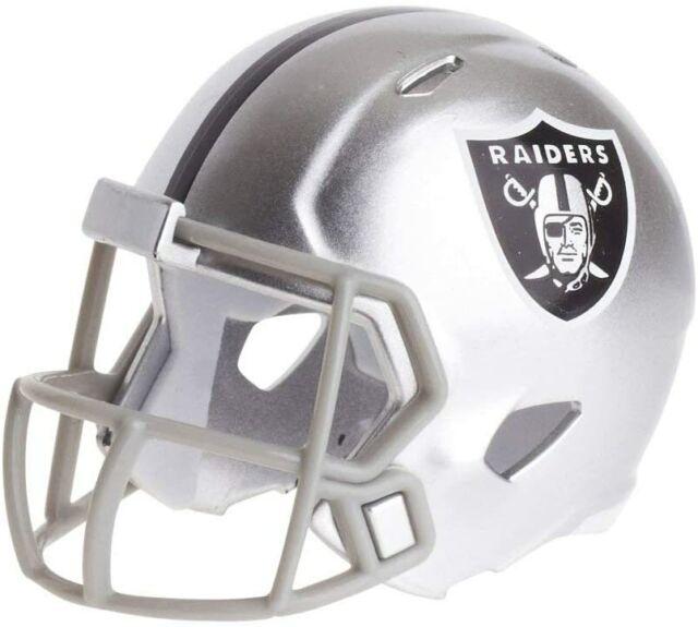 NFL Football Helmet Las Vegas Raiders Pocket Mini Speed Footballhelm Helmet