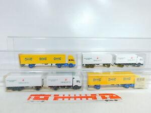 BX336-0-5-4x-Wiking-1-87-H0-LKW-Mercedes-455-1-Dragoco-544-Ikea-NEUW-OVP