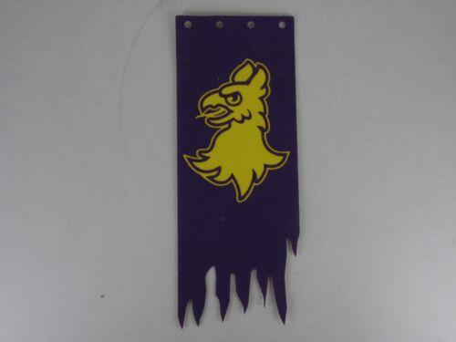 Playmobil ritterburg-drapeau pendant sans support violet, aigle