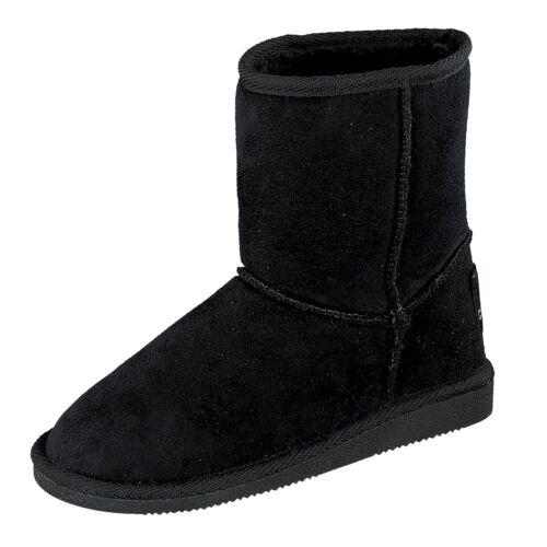 Lente Bottes Fille Hiver Chaussures 466-728 Boots Doublure Noir Nouveau