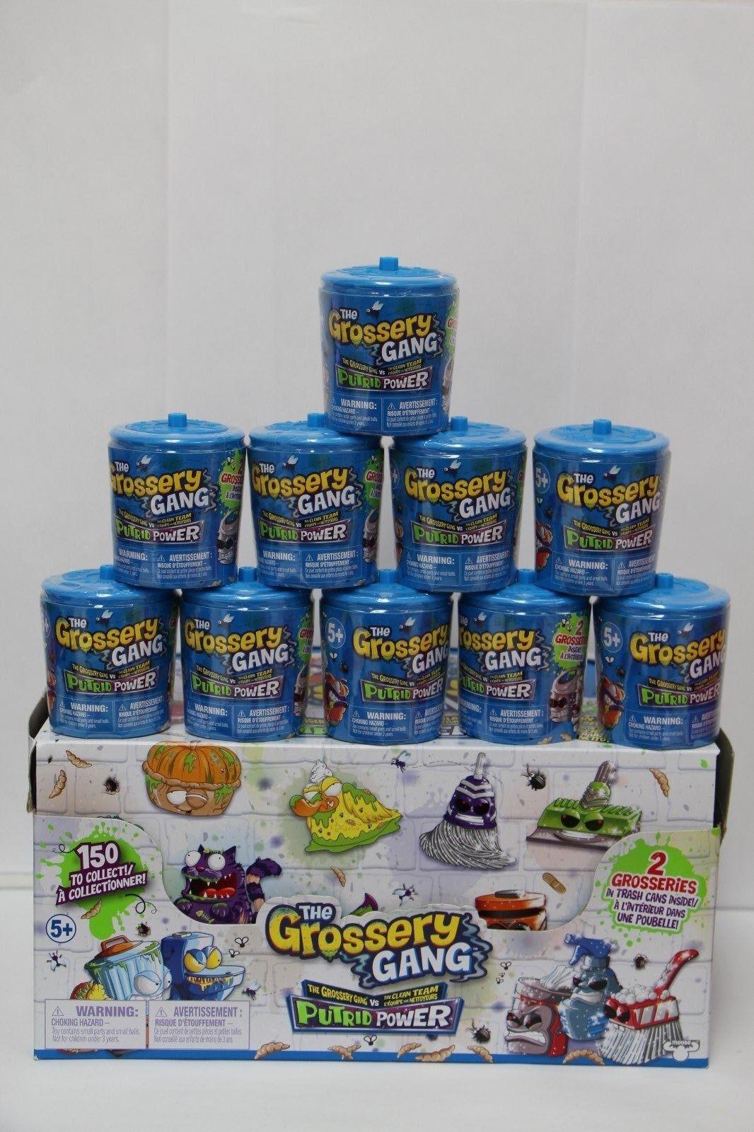 The Grossery Gang Putrid Power 2 Grosseries blind capsule Lot Lot Lot of 10 630a51
