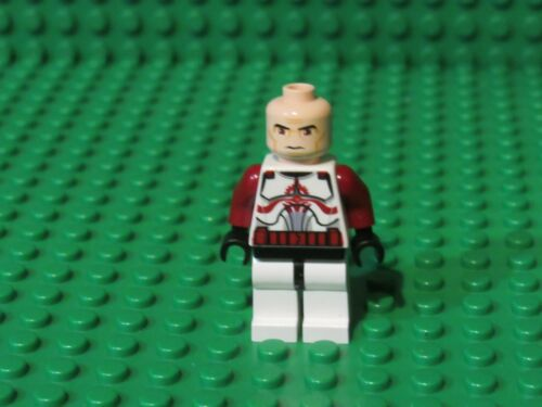 Lego Star Wars COMMANDER FOX Minifig 7681 Clone Trooper no helmet NH81