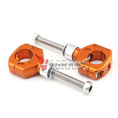 For KTM 990 SMT/DUKE/R 950 Supermoto Riser Handlebar Clamp height #40mm/50mm
