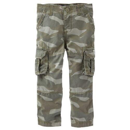 OSHKOSH NWT Infant Boys STRAIGHT FIT CARGOS Camouflage camo cargo pants