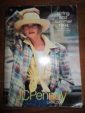 Vintage 1994 JC Penney Spring & Summer Catalog