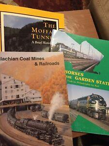 Train-Railroad-Book-Lot-3-Stapled-paperbacks-New-York-Moffat-Tunnel-Appalachian