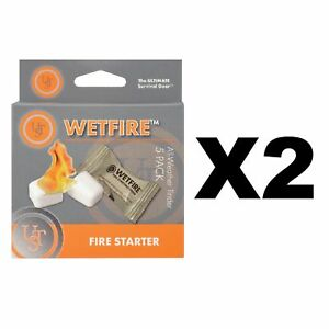 Ultimate Survival Technologies Light-Me Quick /& Easy Fire Starters 2-Pack of 8