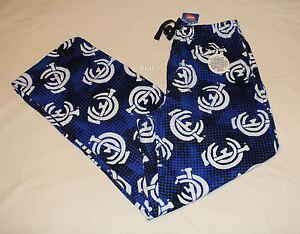 Nuovo M taglia pantaloni sonno Carlton W16 Blues Logo Mens flanella stampato Afl qFvz0Pwq