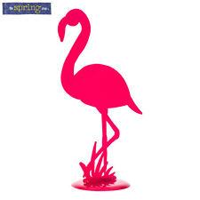 "16.5"" Cute Pink Metal Flamingo Nautical Beach Art Decor"