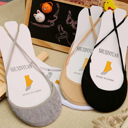 10pair Cotton Anti Skid Invisible Liner No Show Low Cut Half Feet Sling Socks