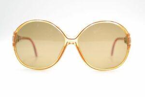 Amical Zeiss 1443 8099 Customized 49 [] 12 Orange Rouge Ovale Lunettes De Soleil Sunglasses Neuf-afficher Le Titre D'origine