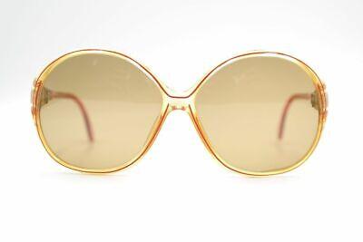 Gastfreundlich Zeiss 1443 8099 Customized 49[]12 Orange Rot Oval Sonnenbrille Sunglasses Neu Stabile Konstruktion