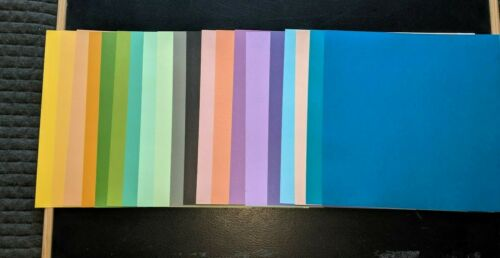 card making  w1 20 sheets of Core/'dinations  card stock 12 x 12 NEW