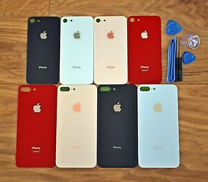 Per-Apple-iPhone-8-8-PLUS-Batteria-Vetro-Posteriore-Cover-Posteriore-Alloggiamento-Ricambio