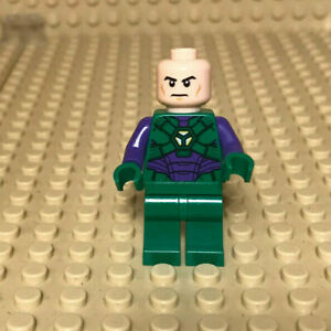Lego Minifigur sh459 Lex Luthor, Green and Dark Purple Light Armor - Heinsberg, Deutschland - Lego Minifigur sh459 Lex Luthor, Green and Dark Purple Light Armor - Heinsberg, Deutschland
