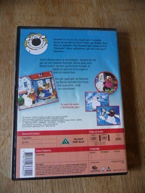 Wowser en slem kattepine, DVD, tegnefilm