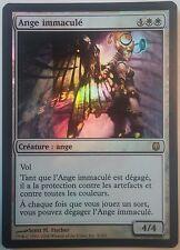 Ange Immaculé PREMIUM / FOIL VF - French Pristine Angel Darksteel - Magic mtg