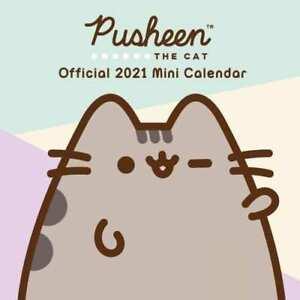 2021 Pusheen Official Mini Square Wall Calendar ...