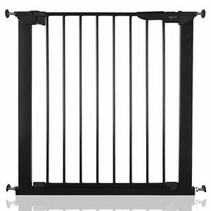 Safetots Pas De Vis Barrière Sécurité Escalier Protection Noir 73,5-79,6cm
