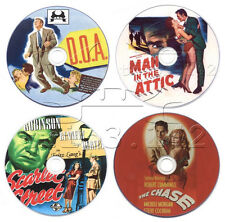 Film-Noir Movie DVD Collection: Scarlet Street, The Chase, D.O.A., Man in the...