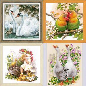 RIOLIS-Birds-Counted-Cross-Stitch-Kits