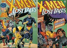 X-Men Lost Tales 1997 # 1 & 2  Both Signed by Chris Claremont