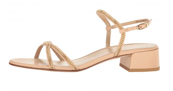 Stuart Weitzman Overriding Naked Nappa Sandals 5437 Taille 9 M